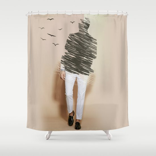 vanish Shower Curtain