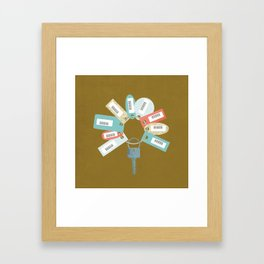 Disloyal Framed Art Print
