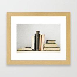 Vintage Books No.2 Framed Art Print