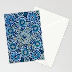 Snowflake Mandala Stationery Cards