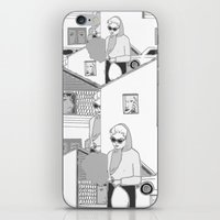 the neighbourhood iPhone & iPod Skins featuring Into the neighbourhood by Fiona Kate