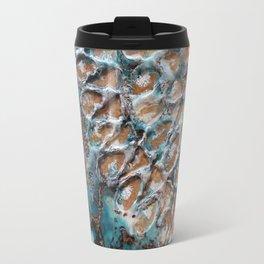 Turquoise peace Travel Mug