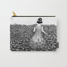 The Field of Poppies Carry-All Pouch