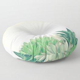 Succulent Forest Floor Pillow