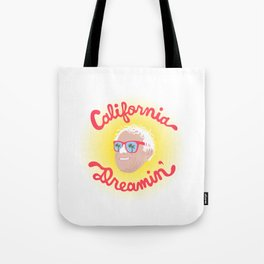 California Dreamin' Bernie Tote Bag
