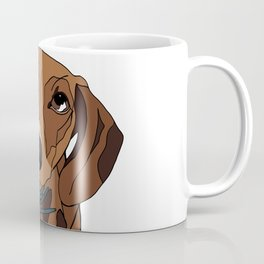 Mabel the mini Dachshund Coffee Mug
