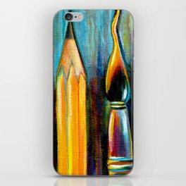 Pen, Pencil, Brush iPhone Skin