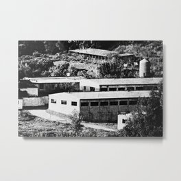 Industrial Spain Metal Print