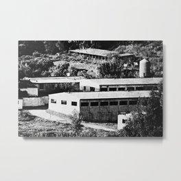 Industrial Spain Metal Print