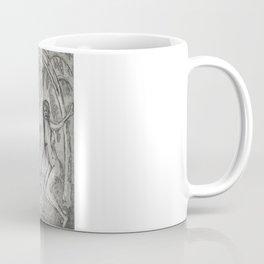 Nude and wolf Coffee Mug