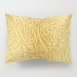 Celtic Warlord gold Pillow Sham