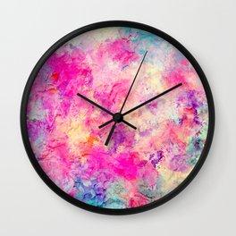Plastered Memories 8 Wall Clock