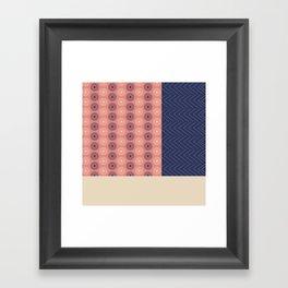 AFE Geometric Abstract Framed Art Print