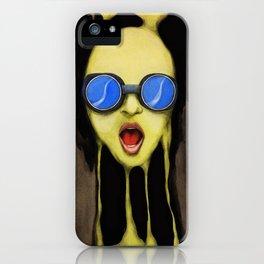 Melting Screams iPhone Case