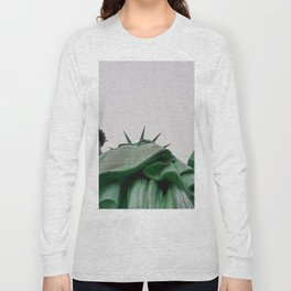 New York City: Statue of Liberty (Color) Long Sleeve T-shirt