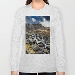 Glyderau Mountain Winter Long Sleeve T-shirt