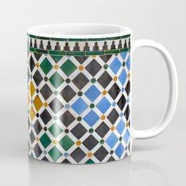 Alhambra Tiles Coffee Mug