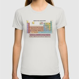 Periodic Table Of Movie Genres T-shirt