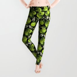 Blooming pomelo with fruits Leggings