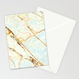 Golden Marble Stationery Cards