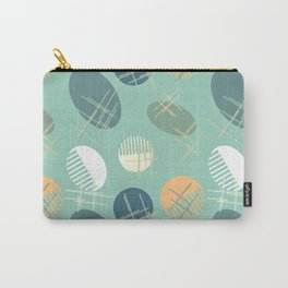 Comb and hand-mirror abstract Carry-All Pouch