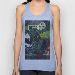 "Gustav Klimt ""Houses In Unterach On The Attersee"" Unisex Tank Top"