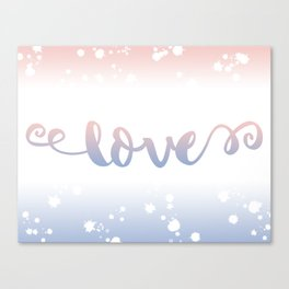 Love Mood Canvas Print