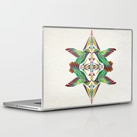 hummingbird Laptop & iPad Skins featuring hummingbird  by Manoou