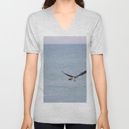 Swing and a Miss Unisex V-Neck