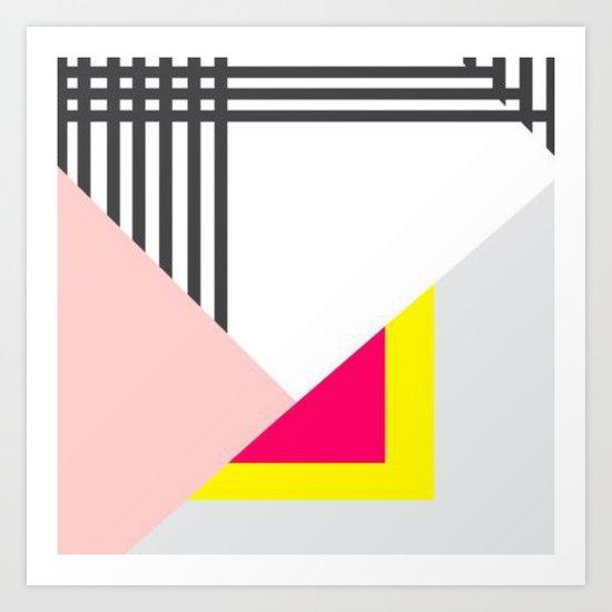 Memphis Milano Art Print