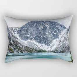 Alpine Lakes Wilderness, Colchuck Lake Rectangular Pillow