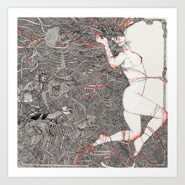 Wild We Are Beasts Art Print