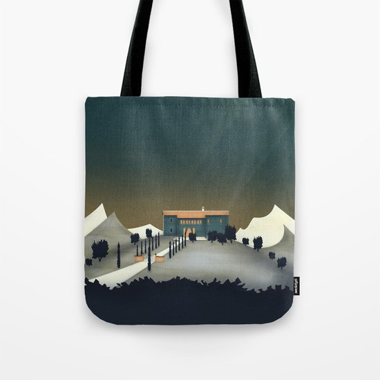 Secret Castle Tote Bag