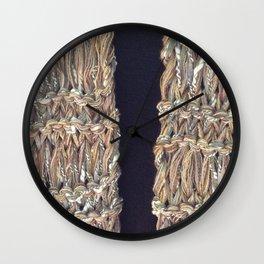 Knitter 4 Wall Clock
