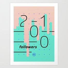 2100 Art Print