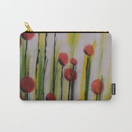 French Poppies Carry-All Pouch