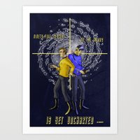 uncharted Art Prints featuring Uncharted by bravinto