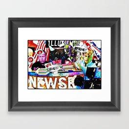 Newsroom Framed Art Print