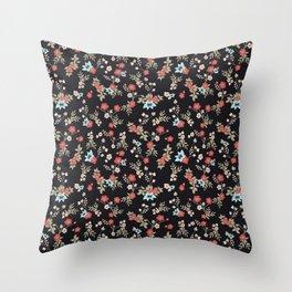 Kimono Print Throw Pillow