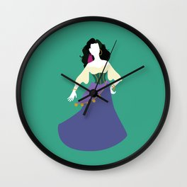Esmeralda from The Hunchback of Notre-Dame Wall Clock