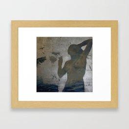 Persephone - Air & Sea Framed Art Print
