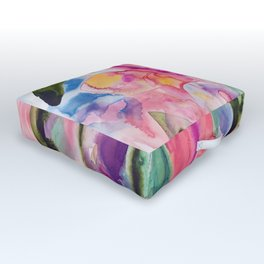 garden fantasy Outdoor Floor Cushion