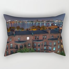 Boston Architecture Rectangular Pillow
