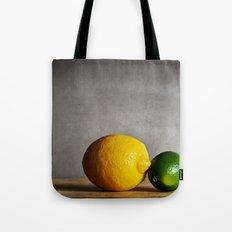 Lemon and Lime Tote Bag