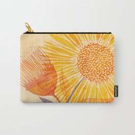 Tuesday Afternoon Sunflowers Carry-All Pouch