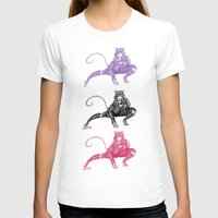 gotham T-shirts featuring Gotham Catgirl by Chelestino