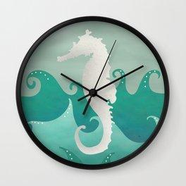 Sea Stallion #Seahorse #Ocean Wall Clock