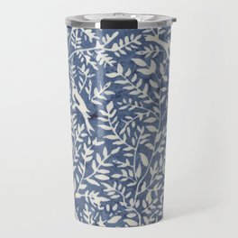 Wonderlust blue#Birds let's run away Travel Mug
