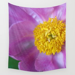 Herbaceous Peony Wall Tapestry