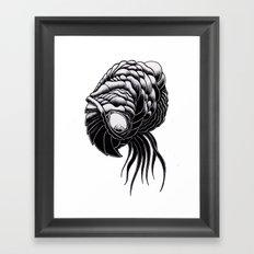 Brain Feeder Framed Art Print